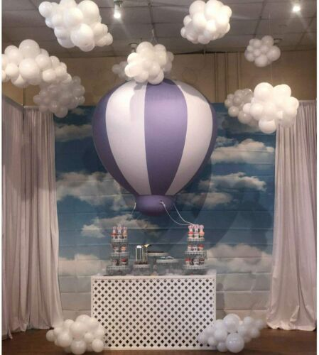 Baby Shower Balloon Birthday Balloon Inflatable Hanging PVC Balls for Party