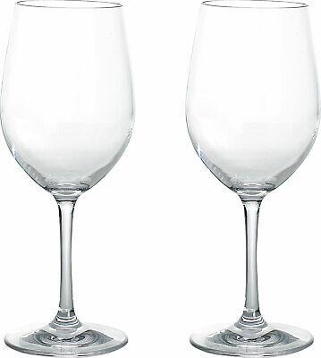 Gimex Kunststoff Weißweingläser Blow 0,25 l 2er Set Tasse Becher Glas Camping
