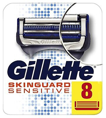 Gillette SkinGuard Sensitive Rasierklingen, 8 Stück (Gillette Sensitive Rasierklingen)