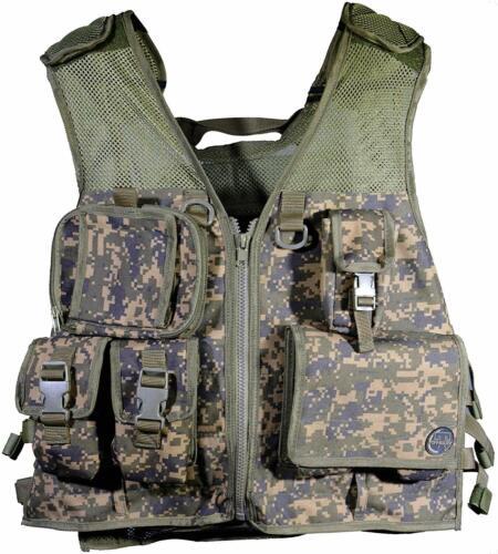Tippmann Pro Tactical Vest - Holds 4 + 2 Pods + Tank - Paintball