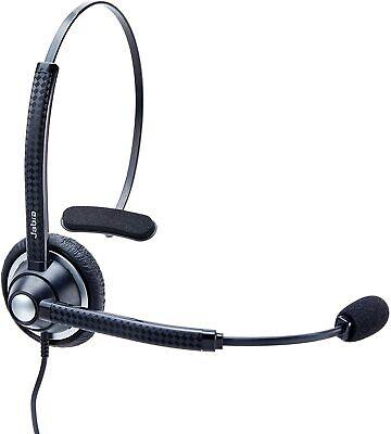 NEW - Jabra BIZ 1900 Mono Telephone Headset, QD Connect, Noise Canceling Mic