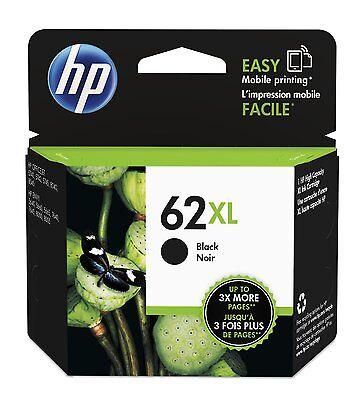 HP Genuine 62XL Black Single Unit Ink Cartridge in Retail Box