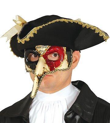 Herren Venezianische Maskerade Maske Karneval Mardi Gras Halloween - Herren Mardi Gras Maske