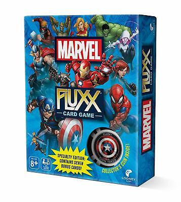 Marvel Fluxx Specialty Edition SEALED UNOPENED FREE SHIPPING