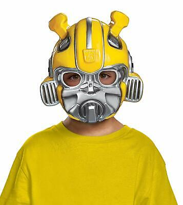 Bumblebee Transformers Halloween Costume (Bumblebee Movie Mask Transformers Fancy Dress Halloween Child Costume)