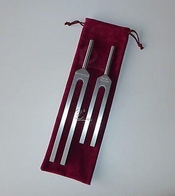 Hohes OM 2 Stimmgabel Satz -  Germany - high OM tuning fork - diapason
