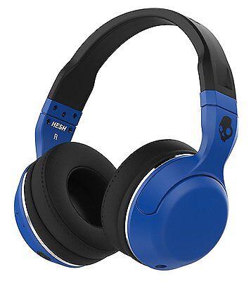 Skullcandy Hesh 2 Bluetooth 4 0 Wireless Headphones With Mic  Blue