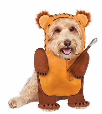 NEW Star Wars Ewok Running with Spear Dog Costume Size XL Disney