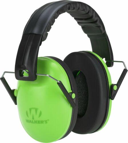 WALKERS BABY & KIDS EARMUFFS * GREEN * Hearing Protection 6mos-8yrs Rating 23db