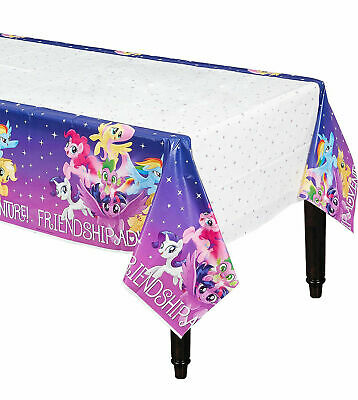 NEW My Little Pony Birthday Plastic Table Cover 54