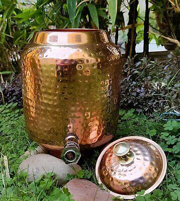Pure Copper Water Dispenser Storage Water Tank Copper Vessel Ayurveda Benefits