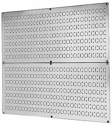 Metal Peg Board Wall Organizer Racks Garage Tool Storage Galvanized Steel 2