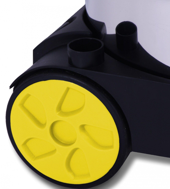 Masko® Staubsauger 1800W Nass Trocken Sauger 30L Industriestaubsauger Edelstahl
