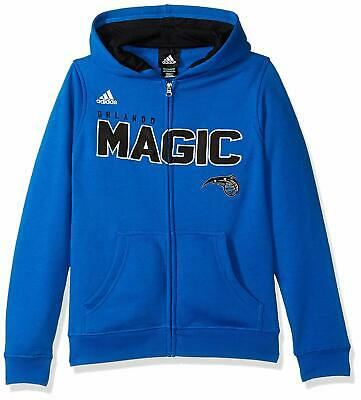Outerstuff NBA Orlando Magic Youth Boys Team Color Full Zip Hoodie Large 14/16