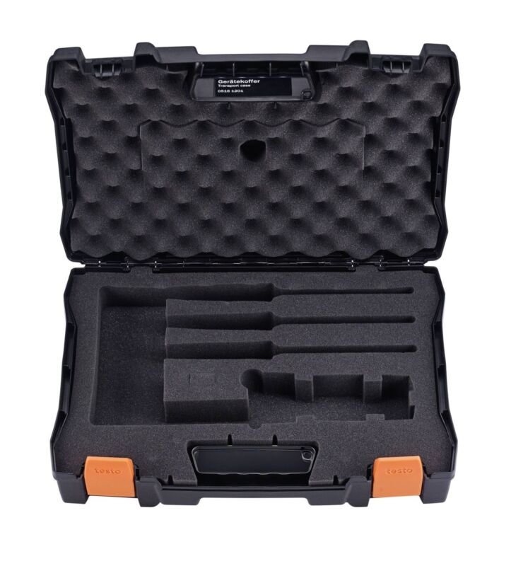 Testo 0516 1201 Hard Carrying Case with Fitted Foam Padded Interior