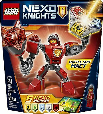 LEGO Nexo Knights Battle Suit Macy 70363 Building Kit (66 Piece)