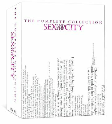 Sex And The City Box Set Complete Series Collection Seasons 1 6