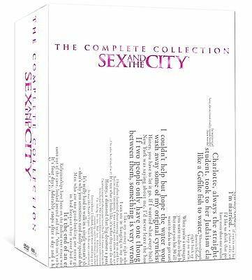 Sex And The City Complete Series Collection  Seasons 1 6 17 Dvd Set 2012  New