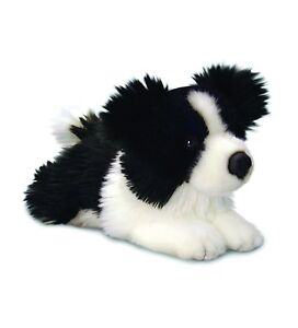 Jessie Border Collie Puppy Soft Toy Dog 25cm Keel Toys