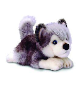 'Storm Husky' Puppy Dog 25cm, Keel Plush Soft Toy, Cuddly Stuffed Animal Teddy