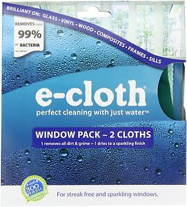 E cloth window pack perfect cleaning with just water 2 - Best cloth for cleaning windows ...