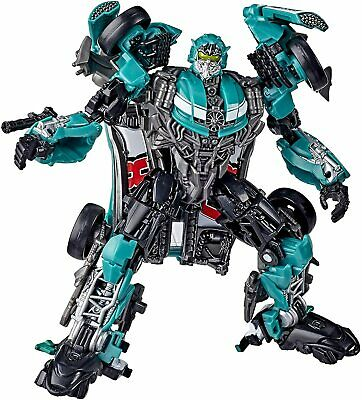 Transformers Toys Studio Series 58 Deluxe Class Dark Roadbuster Action Figure