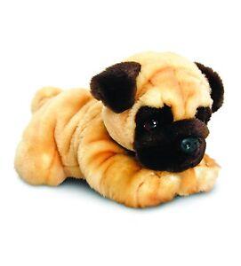 Keel Toys Reggie The Pug 30cm - Plush Dog Soft Toy Puppy Stuffed Animal - New