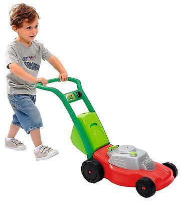 Kinder Ecoiffier Großer Rasenmäher Kindergarten Spielzeug Rasenmäher NEU