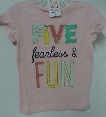 Just One You By  Carters Girls T Shirt Variation Color And Size
