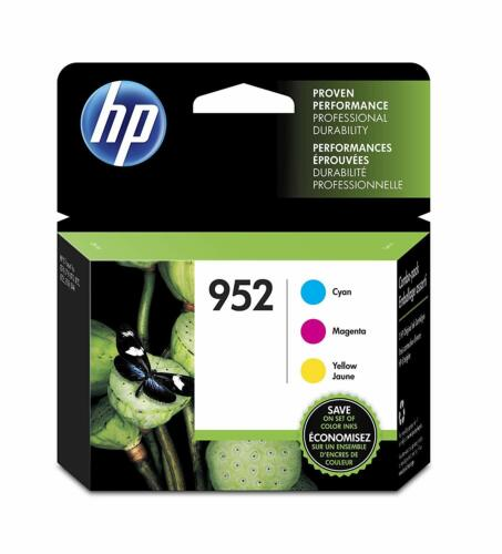 3PK Genuine HP 952 Ink Cartridge Officejet Pro 8710 8715 8716 8720 8725 8728