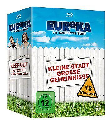 Eureka Complete Series Blu Ray Box Set New  German Packaging English Audio