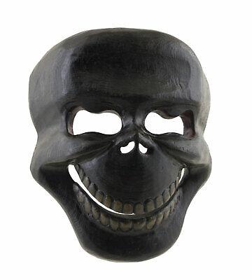 Mask Citipati Tête de Death 20 cm Wooden Painted - Himalaya-Nepal Tibet 9937 B7