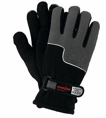 Winter Schutzhandschuhe Fleece Arbeitshandschuhe Warm Gefüttert L (RPOLTRIP-BS)