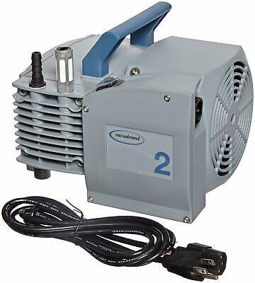 Vacuubrand Me2 Nt Aluminum Diaphragm Vacuum Pump Dual Voltage 100-120v200-230