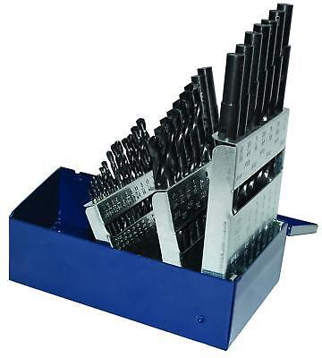 Century Drill 24038 Black Oxide Industrial High Speed Steel Drill Bit Set 29pcs