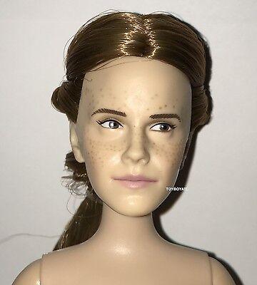 Disney Store Live Action Beauty Beast Provincial Belle Nude Doll NEW Emma Watson