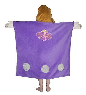 Disney's Sofia The First Hooded Throw Fleece Blanket