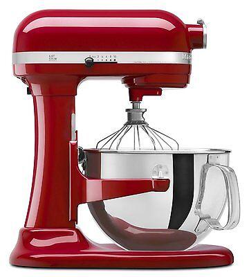 KitchenAid Pro 6000 HD 600 Stand Mixer 6-quart Big Super Red,Silver,Black,White