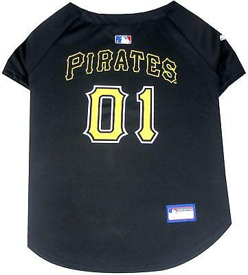- Pittsburgh Pirates Dog Jersey Shirt - XL Black - Official MLB - Pets First - NWT