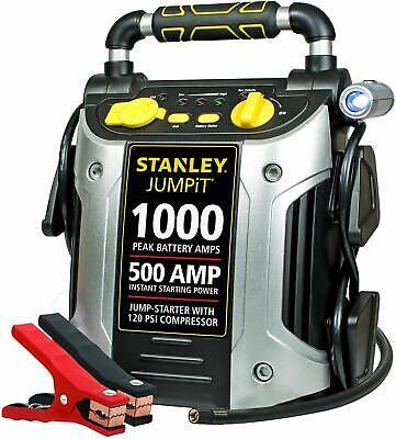 STANLEY J5C09 Power Station Jump Starter: 1000 Peak/500 Inst