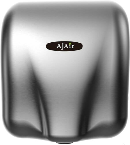 AjAir Heavy Duty Commercial 1800 Watts High Speed Automatic Hot Hand Dryer