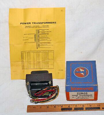 Thordarson 22r05 300v Power Transformer In Box