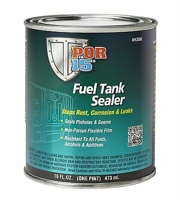 PPOR 15 49208 Fuel Tank Sealer - Repairs ,Seals Fixes Rusted Gas Tanks - 1 Pint