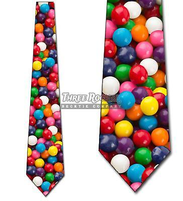 Gumballs Tie Candy Neckties Mens Brand New