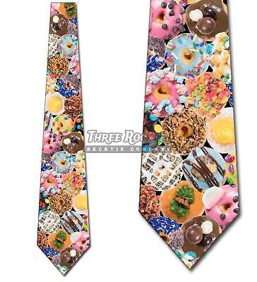 Donut Tie Mini Doughnuts Men