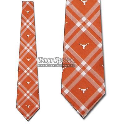 Eagles Wings Texas Longhorns Necktie (Longhorns Tie University of Texas Longhorns Neckties Licensed Mens Neck Ties)