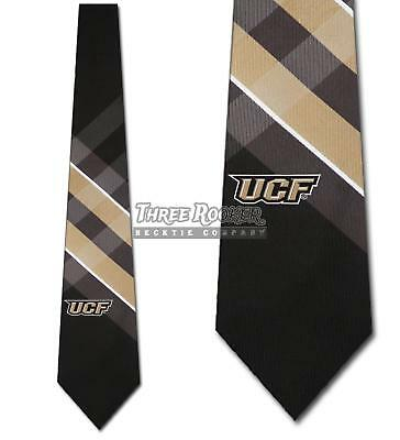 UCF Golden Knights Ties Mens Golden Knights Necktie Licensed Neck Tie NWT Ucf Golden Knights