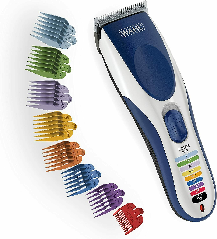 Wahl Color Pro Cordless Rechargeable Hair Clipper 21 piece M
