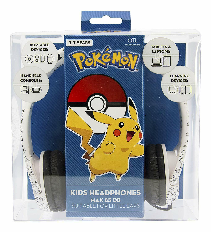 Pokemon Pikachu Face Kids Headphones