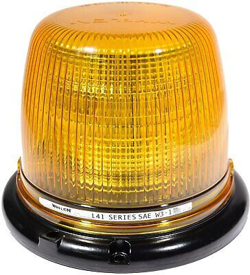 New Whelen L41 Class 1 Amber Super-led Beacon L41ap Utility Snow Tow Msrp 320